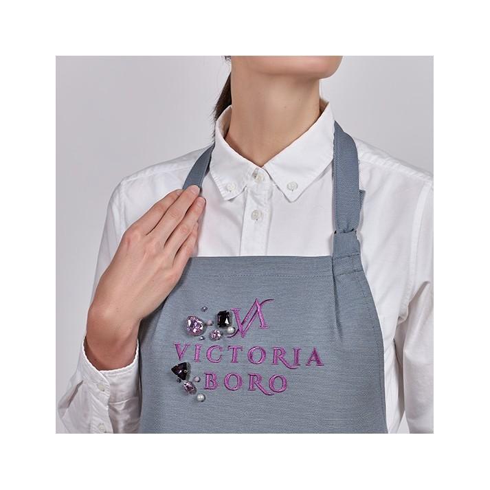 Fartuch FASHION Victoria Boro dla stylistki paznokci
